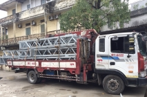 Dịch vụ cho thuê xe cẩu tự hành tại Hà Nội