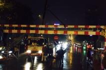 Xây dựng cầu vượt tại nút giao đường Láng Hạ - Thái Hà