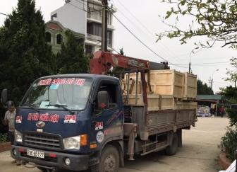 Cho thuê xe cẩu tự hành 2,5 tấn