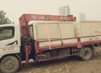 Cho thuê xe cẩu tự hành 3.5 tấn